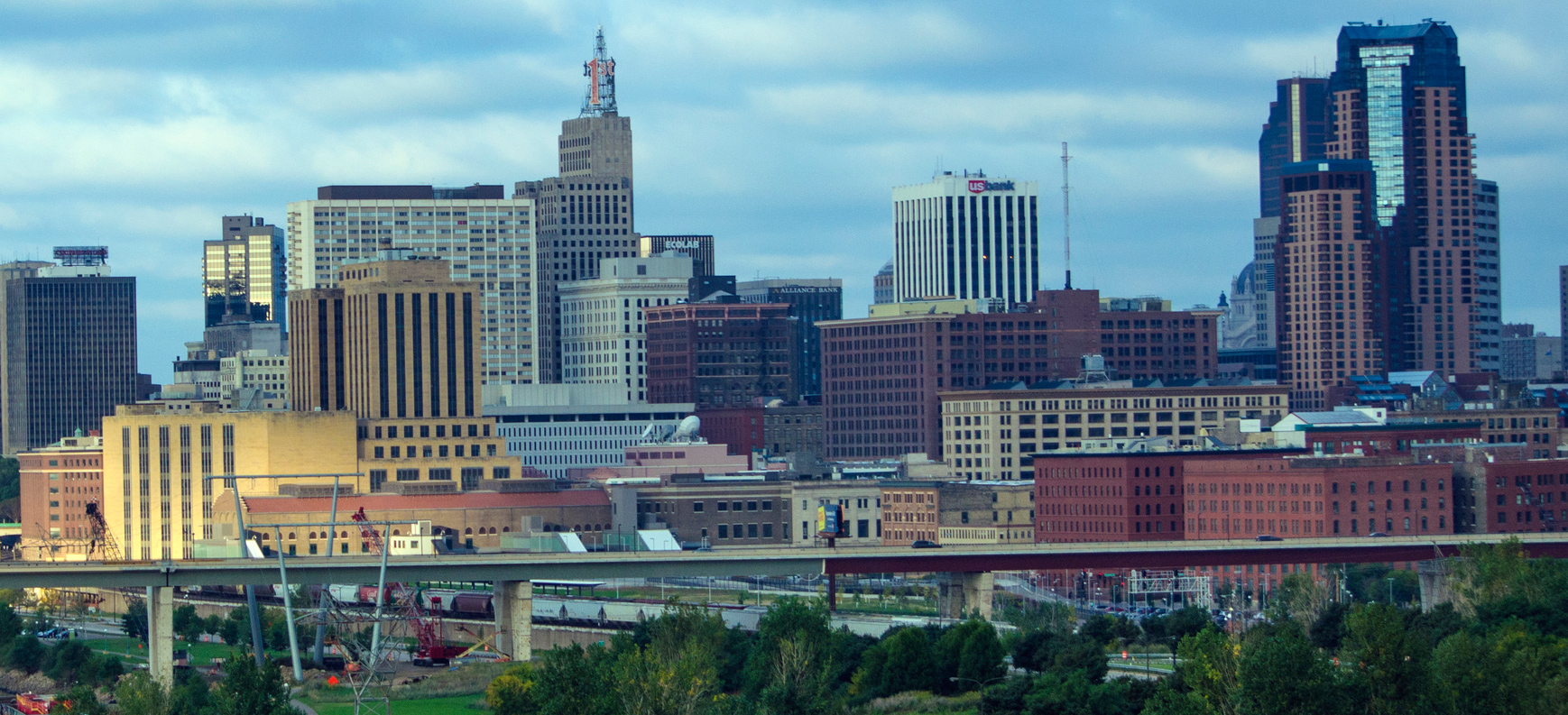 Cityscape of Saint Paul